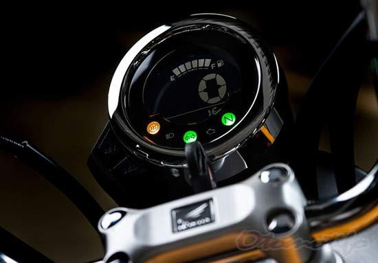Gambar Speedometer Honda Monkey