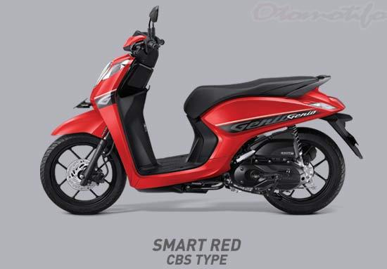 Warna Motor Genio Merah