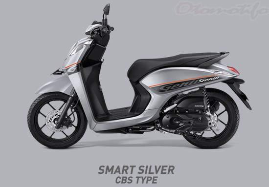 Warna Motor Genio Silver