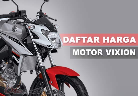 Daftar Harga Motor Vixion