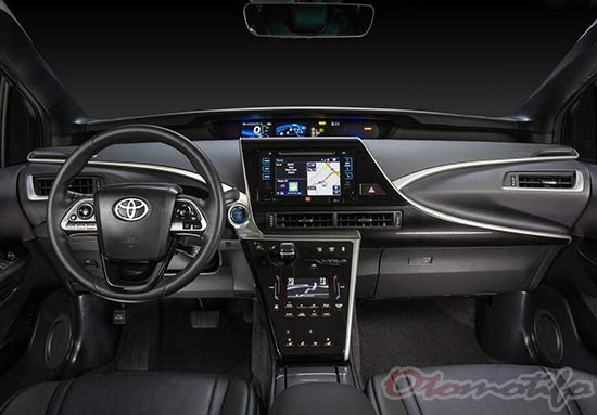 Gambar Interior Mobil Listrik Toyota Mirai