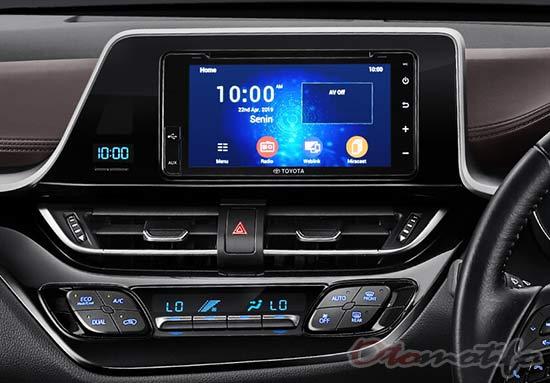 Gambar Interior Toyota C-HR Hybrid
