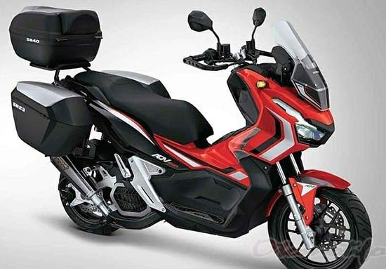 2019 Modifikasi Honda Adv 150 Touring Adventure Carbon