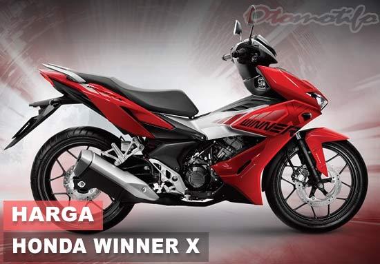 Harga Honda Winner X