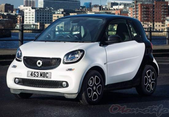 Harga Mobil Smart Fortwo Coupé Urbanshadow