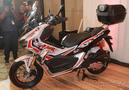 Modifikasi Honda ADV 150 Touring
