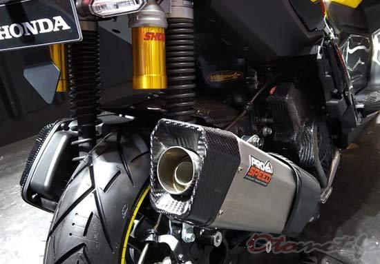 Modifikasi Knalpot Motor ADV 150