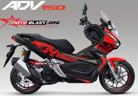 Striping Motor ADV 150