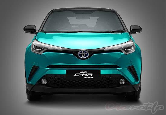 Spesifikasi Toyota C-HR Hybrid