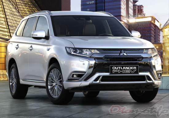 Harga Mitsubishi Outlander Phev 2021 Spesifikasi Interior Terbaru