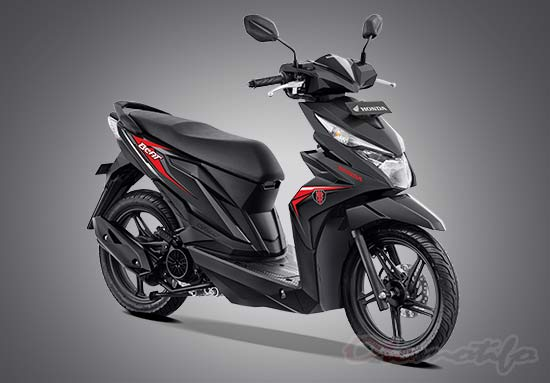Warna Honda Beat Hitam
