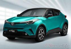 Warna Mobil CHR Hybrid