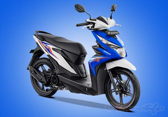 Warna Motor Beat Biru