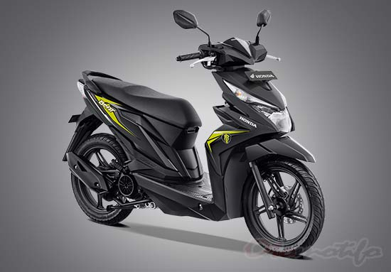 Warna Motor Beat Putih