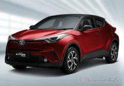 Warna Toyota CHR Hybrid Dual Tone
