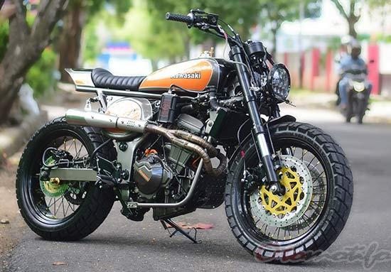 Gambar Modif Ninja 250cc Tracker