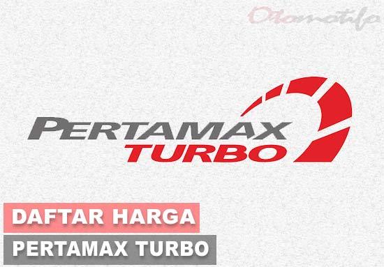 Harga Pertamax Turbo Terbaru