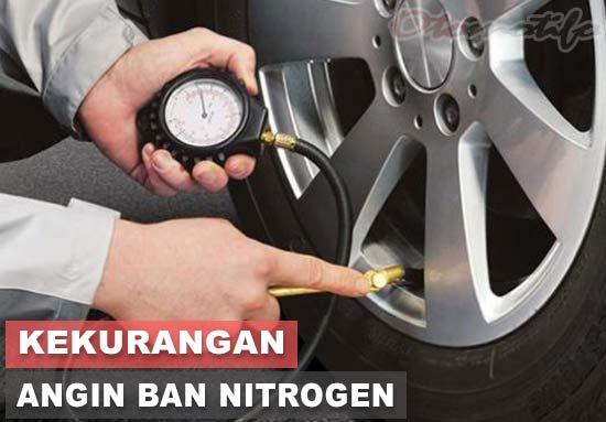 Kekurangan Angin Ban Nitrogen