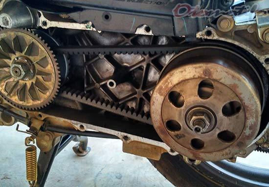 Solusi Mengatasi Motor Matic Bergetar