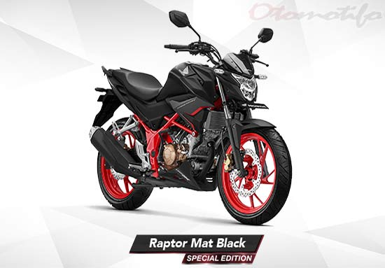 Warna CB150R Raptor Mat Black