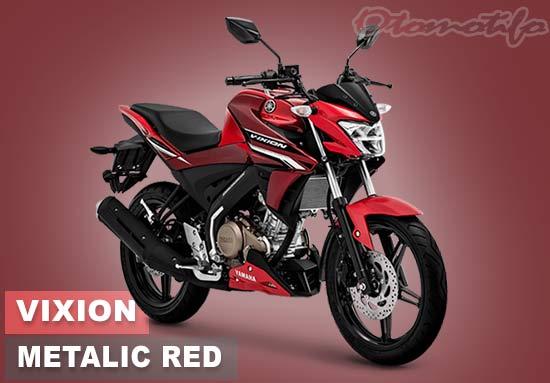 Warna Motor Vixion Merah