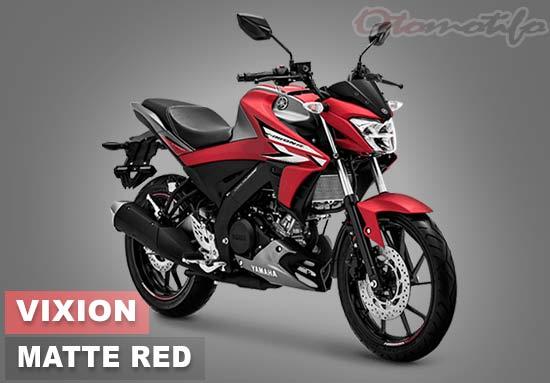 Warna Motor Vixion R Merah