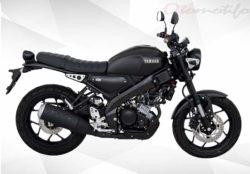 Warna Yamaha XSR 155 Hitam