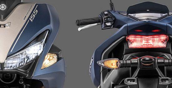 Fitur Motor Aerox 155