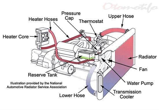 Gambar Komponen Radiator Mobil
