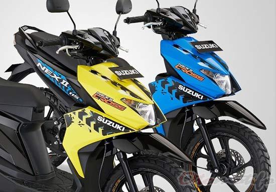 Review Suzuki Nex II Cross