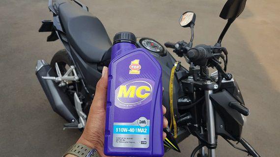 TOP 1 MC, Oli Terbaik Buat Motor Yamaha Vixion