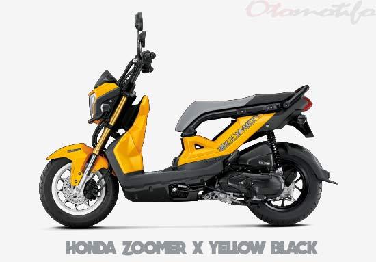 Warna Motor Honda Zoomer X Kuning