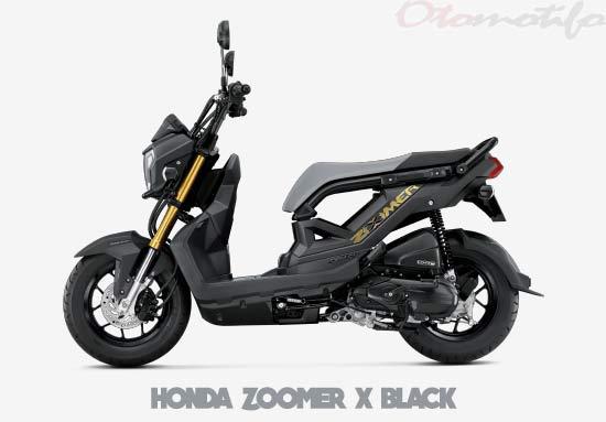 Warna Motor Honda Zoomer X Hitam