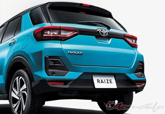 Desain Eksterior Toyota Raize