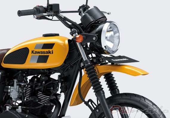 Gambar Kawasaki W175 TR