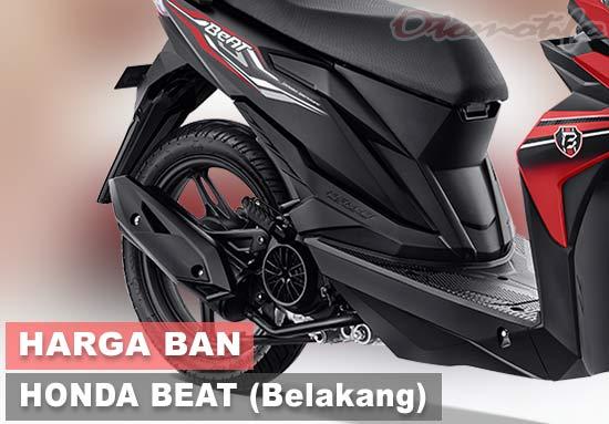 Harga Ban Honda Beat Tubeless