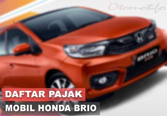 Pajak Honda Brio Pertahun
