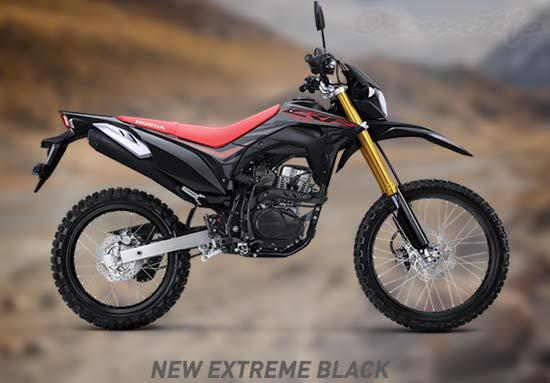 Warna-Honda-CRF-150-Hitam