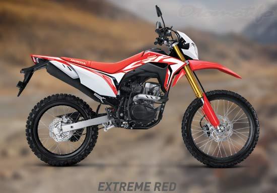 Warna Honda CRF 150 Merah