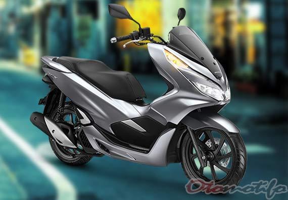 Gambar Honda PCX Warna Silver