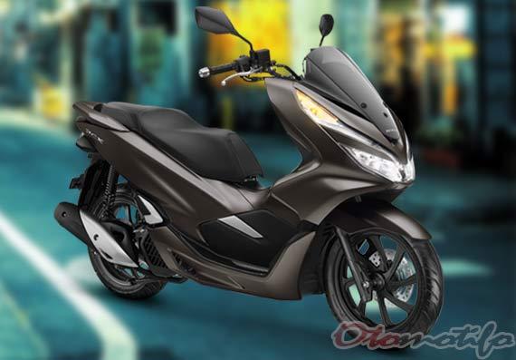 Gambar Warna Honda PCX Coklat