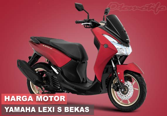 Harag Yamaha Lexi S Bekas