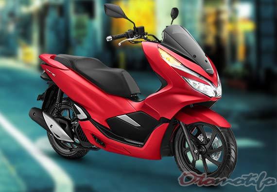 Warna Honda PCX Merah