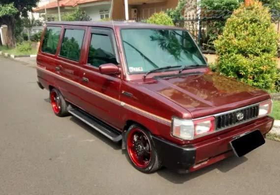 Gambar Toyota Kijang Super 1996