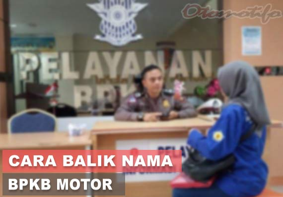 Cara Balik Nama Motor di Polda
