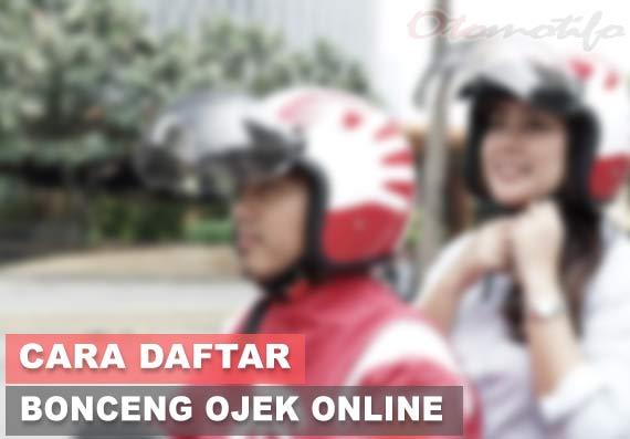 Cara Daftar Bonceng Online