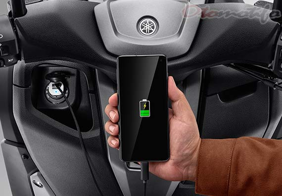 Charger NMAX Connected