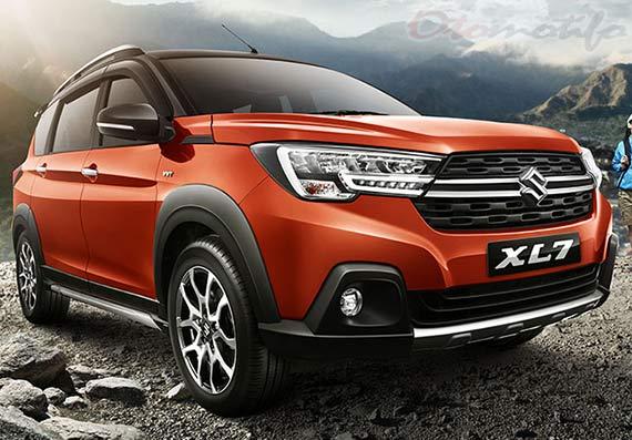 Eksterior Mobil Suzuki XL7