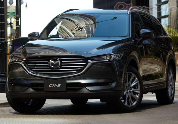 Mobil Keluarga Terbaik Mazda CX-8