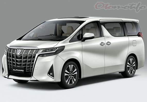 Gambar Mobil Kelurga Terbaik Toyota Alphard